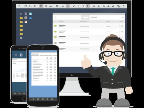 Software til fjernskrivebord   ISL Online