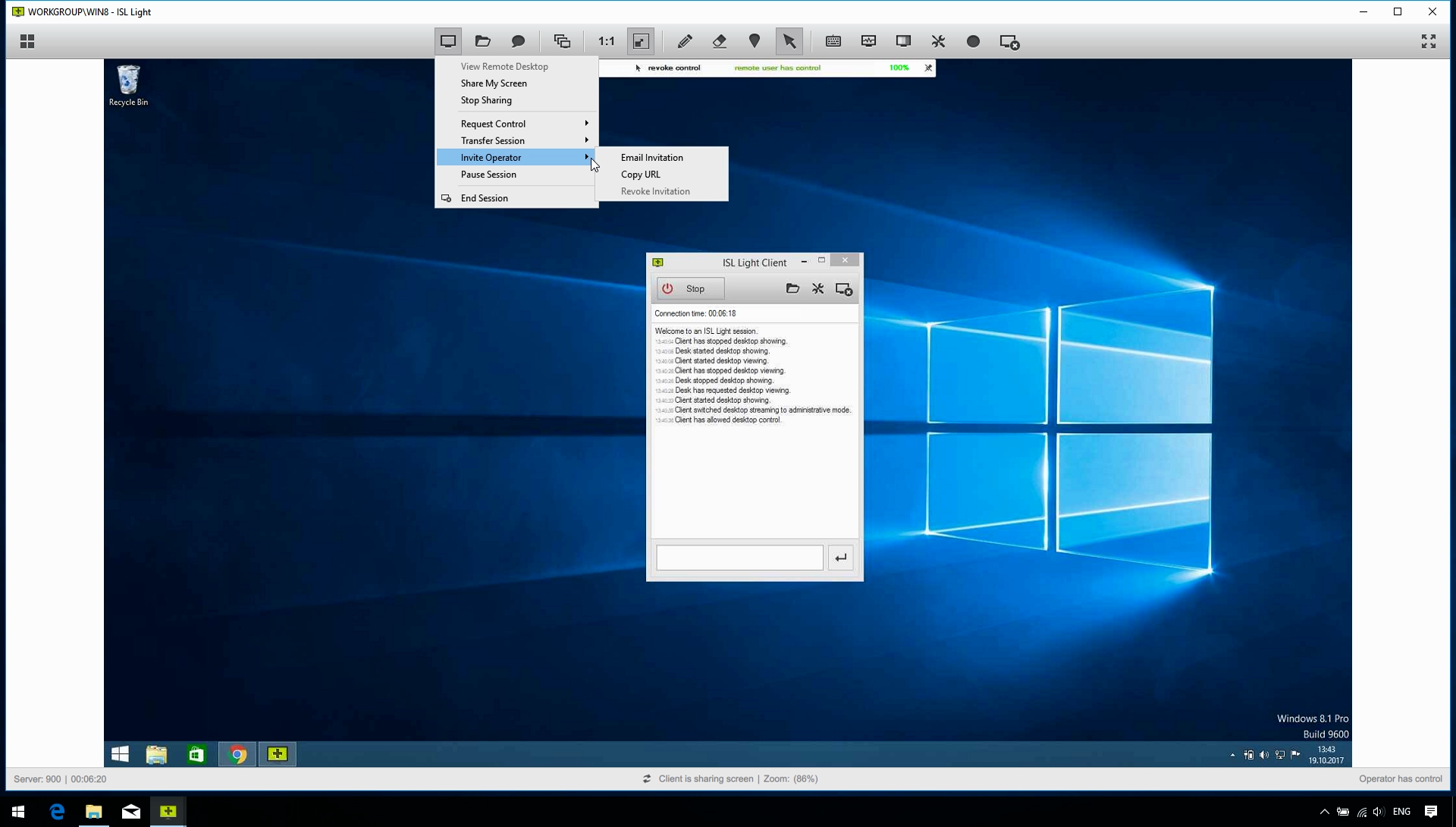 Remote Desktop Features