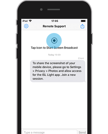 iOS Remote Support | ISL Online